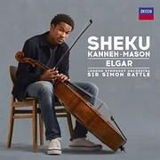 CD image for SHEKU KANNEH - MASON / ELGAR (SIR SIMON RATTLE)