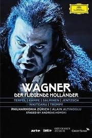 DVD image BLU - RAY / WAGNER / DER FLEGENDE HOLLANDER (THE FLYING DUTCHMAN)