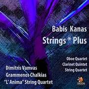 CD image BABIS KANAS / STRINGS PLUS