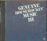 CD image GENUINE HOUSEROCKIN MUSIC III