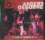CD image ANDERS OSBORNE / LIVE AT TIPITINAS