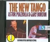 CD image ASTOR PIAZZOLLA - GARY BURTON / THE NEW TANGO