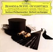 CD image ROSSINI AND SUPPE / OVERTURES - OUVERTUREN (KARAJAN)