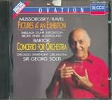 MUSSORGSKY / <br>PICTURES AT AN EXHIBITION / <br>SOLTI