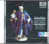 CD image ALBINONI / 8 OBOE CONCERTOS FROM OP.7 / HOLLIGER