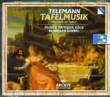 CD image TELEMANN / TAFELMUSIK / MUSICA ANTIQUA KOLN / GOEBEL