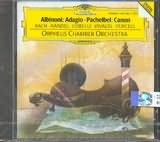 CD image ALBINONI / ADAGIO - PACHELBEL / CANON - BACH - HANDEL - CORELLI - VIVALDI - PURCELL [ORPHEUS CHAMBER ORCHESTRA