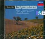 CD image ALBENIZ - GRANADOS - TARREGA - SEGOVIA - TURINA / THE WORLD OF SPANISH GUITAR / EDUARDO FERNANDEZ