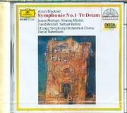 CD image BRUCKNER / SYMPHONY NO 1