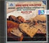 CD image MOZART - HAYDN / LIEDER UND KANZONETTEN / ANNE SOFIE VON OTTER MELVYN TAN