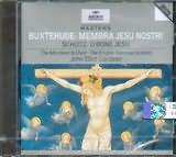 CD image BUXTEHUDE / MEMBRA JESU NOSTRI - SCHUTZ / O BONE JESU / GARDINER