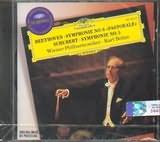 CD image BEETHOVEN / SYMPHONY NO.6 / SHUBERT SYMPHONY NO.5 / BOHM