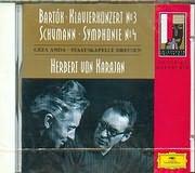 CD image BARTOK / PIANO CONCERTOS N 3 - SCHUMANN / SYMPHONY N 1 [GEZA ANDA] KARAJAN