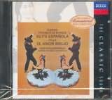 CD image ALBENIZ - FALLA / DE BURGOS