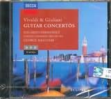 CD image VIVALDI AND GIULIANI / GUITAR CONCERTOS EDUARDO FERNANDEZ