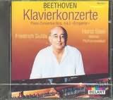 CD image BEETHOVEN / PIANO CONCERTO No.4 AND 5