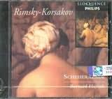 CD image RIMSKY KORSAKOV / SCHEHERAZATE / HAITINK
