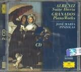 CD image ALBENIZ / SUITE IBERIA / GRANADOS / PIANO WORKS (2CD)