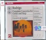CD image RODRIGO / COMPLETE CONCERTOS FOR GUITAR AND HARP - (ARANJUEZ) - THE ROMEROS (2CD)
