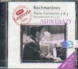 CD image RACHMANINOV / PIANO CONCERTOS NOS.2 AND 3 - ASHKENAZY