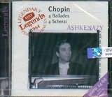 CHOPIN / 4 BALLADES - 4 SCHERZI - ASHKENAZY