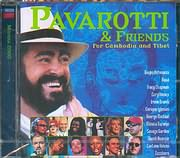 CD image PAVAROTTI AND FRIENDS / FOR CAMBODIA AND TIBET