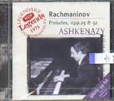 CD image RACHMANINOV / PRELUDES OP.23 AND 32 / ASHKENAZY