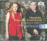 CD image HANDEL / ITALIAN CANTATAS HWV.99 - 145 - 170 / KOZENA - MINKOWSKI