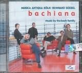 CD image BACHIANA / MUSIC BY THE BACH FAMILY - GOEBEL
