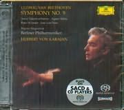 SACD image BEETHOVEN / SYMPHONY N 9 BERLINER PHILHARMONIKER HERBERT VON KARAJAN (SACD)