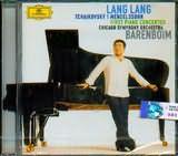 CD image LANG LANG / TCHAIKOVSKY - MENDELSSOHN FIRST PIANO CONCERTOS / CHICAGO SYMPHONY ORCHESTRA - BARENBOIM