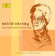 CD Image for ASTRID VARNAY / COMPLETE OPERA SCENES AND ORCHESTRAL SONGS ON DEUTSCHE GRAMMOPHON (3CD)