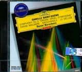 CD image SAINT SAENS / SYMPHONY NO.3 - DANSE MACABRE - BACCHANALE - LE DELUGE / BARENBOIM