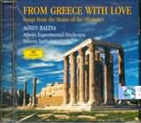 CD image AGNES BALTSA / FROM GREECE WITH LOVE - SONGS FROM THE HOME OF THE OLYMPICS