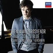 CD Image for BENJAMIN GROSVENOR / RHAPSODY IN BLUE