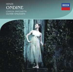 CD image HENZE / ONDINE (BALLET EDITION) (2CD)