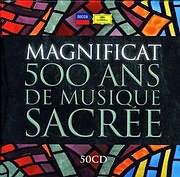 CD image MAGNIFICAT 500 YEARS OF CHORAL MASTERWORKS (50 CD) - (VARIOUS)