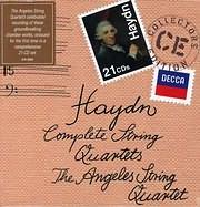CD image HAYDN / COMPLETE STRING QUARTETS (21 CD)