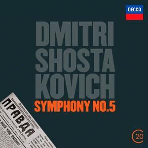 CD image SHOSTAKOVICH / SYMPHONY NO.5 (20C THE MUSIC OF 20TH CENTURY)