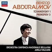 CD image for BEHZOD ABDURAIMOV / TCHAIKOVSKY 1 AND PROKOFIEV 3