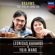 CD image BRAHMS / THE VIOLIN SONATAS (LEONIDAS KAVAKOS - YUJA WANG)