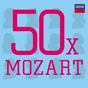 CD image 50 X MOZART - (VARIOUS) (3 CD)