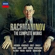 CD image for RACHMANINOV / THE COMPLETE WORKS (32CD BOX)