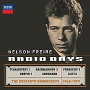 CD image for NELSON FREIRE / NELSON FREIRE RADIO DAYS: THE CONCERTO BROADCASTS 1968 - 1979 (2CD)