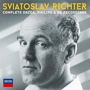 CD image RICHTER SVIATOSLAV / COMPLETE DECCA PHILIPS AND D.G. RECORDINGS (51CD BOX)