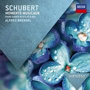 CD image SCHUBERT / MOMENTS MUSICAUX - PIANO SONATA IN B FLAT, D.960 (PIANO: ALFRED BRENDEL)