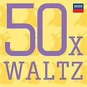 CD image 50 X WALTZ - (VARIOUS) (3 CD)