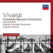 CD image VIVALDI / COMPLETE BASSOON CONCERTOS (DANIEL SMITH) (5CD)