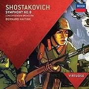 CD image SHOSTAKOVICH / SYMPHONY NO.8 (BERNARD HAITINK)