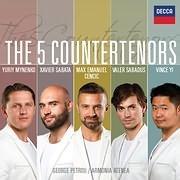 CD image MAX CENCIC - ARMONIA ATENEA - GEORGE PETROU / THE FIVE COUNTERTENORS (2CD)